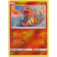 Charmander 7/68 SM Hidden Fates Reverse Holo Common Pokemon Card NEAR MINT TCG