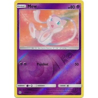 Mew 32/68 SM Hidden Fates Reverse Holo Rare Pokemon Card NEAR MINT TCG