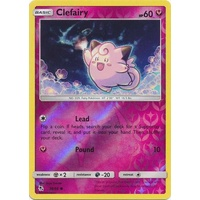 Clefairy 38/68 SM Hidden Fates Reverse Holo Common Pokemon Card NEAR MINT TCG