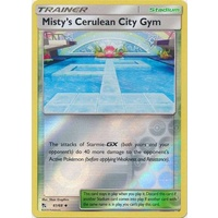 Misty's Cerulean City Gym 61/68 SM Hidden Fates Reverse Holo Uncommon Trainer Pokemon Card NEAR MINT TCG