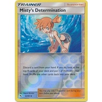 Misty's Determination 62/68 SM Hidden Fates Reverse Holo Uncommon Trainer Pokemon Card NEAR MINT TCG
