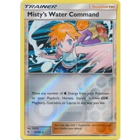 Misty's Water Command 63/68 SM Hidden Fates Reverse Holo Rare Trainer Pokemon Card NEAR MINT TCG