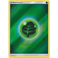 Grass Energy SM Hidden Fates Reverse Holo Pokemon Card NEAR MINT TCG