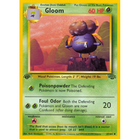 Gloom 37/64 Jungle Set 1st Edition Uncommon Pokemon Card NEAR MINT TCG
