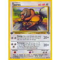 Tauros 47/64 Jungle Set 1st Edition Uncommon Pokemon Card NEAR MINT TCG