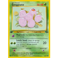 Exeggcute 52/64 Jungle Set 1st Edition Common Pokemon Card NEAR MINT TCG
