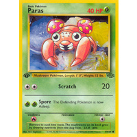 Paras 59/64 Jungle Set 1st Edition Common Pokemon Card NEAR MINT TCG