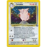 Clefable 1/64 Jungle Set Unlimited Holo Rare Pokemon Card NEAR MINT TCG