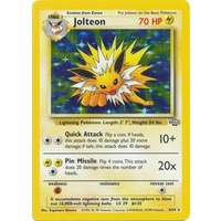 Jolteon 4/64 Jungle Set Unlimited Holo Rare Pokemon Card NEAR MINT TCG