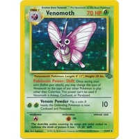 Venomoth 13/64 Jungle Set Unlimited Holo Rare Pokemon Card NEAR MINT TCG