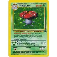 Vileplume 15/64 Jungle Set Unlimited Holo Rare Pokemon Card NEAR MINT TCG