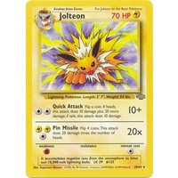 Jolteon 20/64 Jungle Set Unlimited Rare Pokemon Card NEAR MINT TCG
