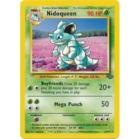 Nidoqueen 23/64 Jungle Set Unlimited Rare Pokemon Card NEAR MINT TCG