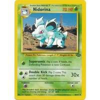 Nidorina 40/64 Jungle Set Unlimited Uncommon Pokemon Card NEAR MINT TCG