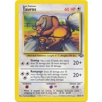 Tauros 47/64 Jungle Set Unlimited Uncommon Pokemon Card NEAR MINT TCG