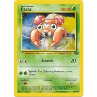 Paras 59/64 Jungle Set Unlimited Common Pokemon Card NEAR MINT TCG