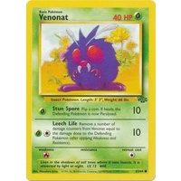 Venonat 63/64 Jungle Set Unlimited Common Pokemon Card NEAR MINT TCG