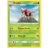 Ariados 10/214 SM Lost Thunder Uncommon Pokemon Card NEAR MINT TCG