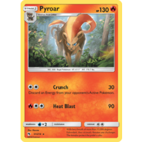 Pyroar 51/214 SM Lost Thunder Rare Pokemon Card NEAR MINT TCG