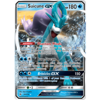 Suicune GX 60/214 SM Lost Thunder Holo Ultra Rare Pokemon Card NEAR MINT TCG