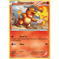 Charmander 17/113 BW Legendary Treasures Common Pokemon Card NEAR MINT TCG
