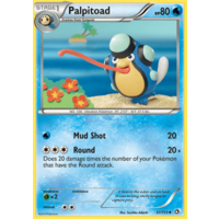 Palpitoad 41/113 BW Legendary Treasures Uncommon Pokemon Card NEAR MINT TCG