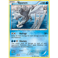 Kyurem 43/113 BW Legendary Treasures Holo Rare Pokemon Card NEAR MINT TCG