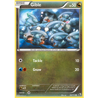 Gible 94/113 BW Legendary Treasures Common Pokemon Card NEAR MINT TCG