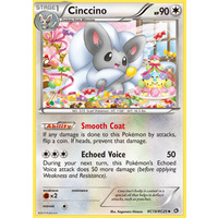 Cinccino RC19/RC25 BW Legendary Treasures Radiant Collection Holo Uncommon Pokemon Card NEAR MINT TCG
