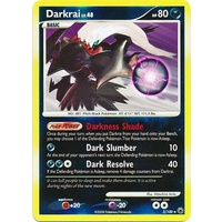 Darkrai 3/100 DP Majestic Dawn Reverse Holo Rare Pokemon Card NEAR MINT TCG