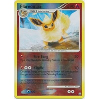 Flareon 19/100  DP Majestic Dawn Reverse Holo Rare Pokemon Card NEAR MINT TCG