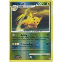 Raichu 45/100 DP Majestic Dawn Reverse Holo Uncommon Pokemon Card NEAR MINT TCG