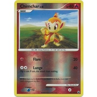 Chimchar 56/100 DP Majestic Dawn Reverse Holo Common Pokemon Card NEAR MINT TCG