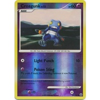 Croagunk 60/100 DP Majestic Dawn Reverse Holo Common Pokemon Card NEAR MINT TCG