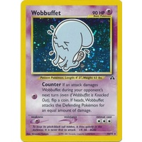 Wobbuffet 16/75 Neo Discovery Unlimited Holo Rare Pokemon Card NEAR MINT TCG