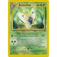 Butterfree 19/75 Neo Discovery Unlimited Rare Pokemon Card NEAR MINT TCG