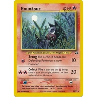 Houndour 24/75 Neo Discovery Unlimited Rare Pokemon Card NEAR MINT TCG