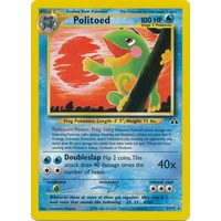 Politoed 27/75 Neo Discovery Unlimited Rare Pokemon Card NEAR MINT TCG