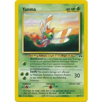 Yanma 36/75 Neo Discovery Unlimited Rare Pokemon Card NEAR MINT TCG