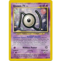 Unown N 50/75 Neo Discovery Unlimited Uncommon Pokemon Card NEAR MINT TCG