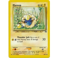 Mareep 58/75 Neo Discovery Unlimited Common Pokemon Card NEAR MINT TCG