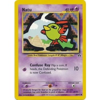 Natu 59/75 Neo Discovery Unlimited Common Pokemon Card NEAR MINT TCG