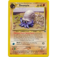 Omanyte 60/75 Neo Discovery Unlimited Common Pokemon Card NEAR MINT TCG