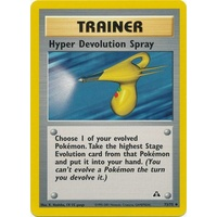 Hyper Devolution Spray 73/75 Neo Discovery Unlimited Uncommon Trainer Pokemon Card NEAR MINT TCG