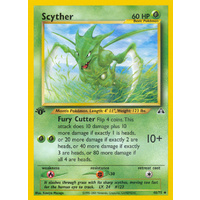 Scyther 46/75 Neo Discovery 1st Edition Uncommon Pokemon Card NEAR MINT TCG