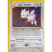 Light Togetic 15/105 Neo Destiny Unlimited Holo Rare Pokemon Card NEAR MINT TCG