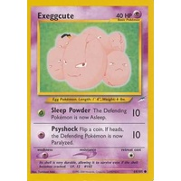 Exeggcute 64/105 Neo Destiny Unlimited Common Pokemon Card NEAR MINT TCG