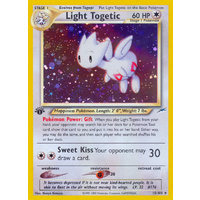 Light Togetic 15/105 Neo Destiny 1st Edition Holo Rare Pokemon Card NEAR MINT TCG