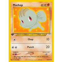Machop 73/105 Neo Destiny 1st Edition Common Pokemon Card NEAR MINT TCG
