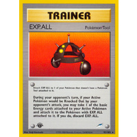 EXP. ALL 93/105 Neo Destiny 1st Edition Rare Trainer Pokemon Card NEAR MINT TCG